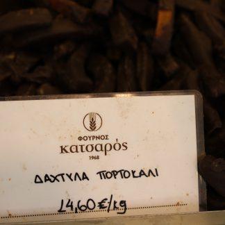 ΣΟΚΟΛΑΤΑΚΙΑ ΔΑΧΤΥΛΟ ΠΟΡΤΟΚΑΛΙ